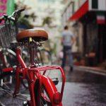 3人乗り自転車、雨の日はカバーが便利!ママはどうしよう??