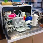 食洗機(NP-TR5)の給排水が止まらない。原因や対策など。