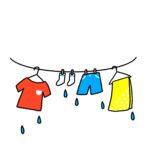 洗濯物が乾かない冬はどうする?外干し・部屋干しでよく乾く方法。