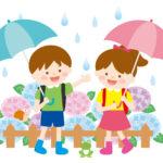 小学生の雨の日の登校はどうする?レインコート?傘?